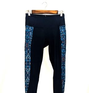 Z by Zobha Athletic Leggings Blue with pockets